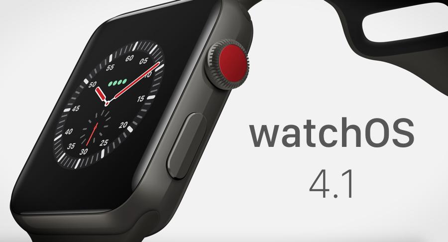 Download watchOS 4.1