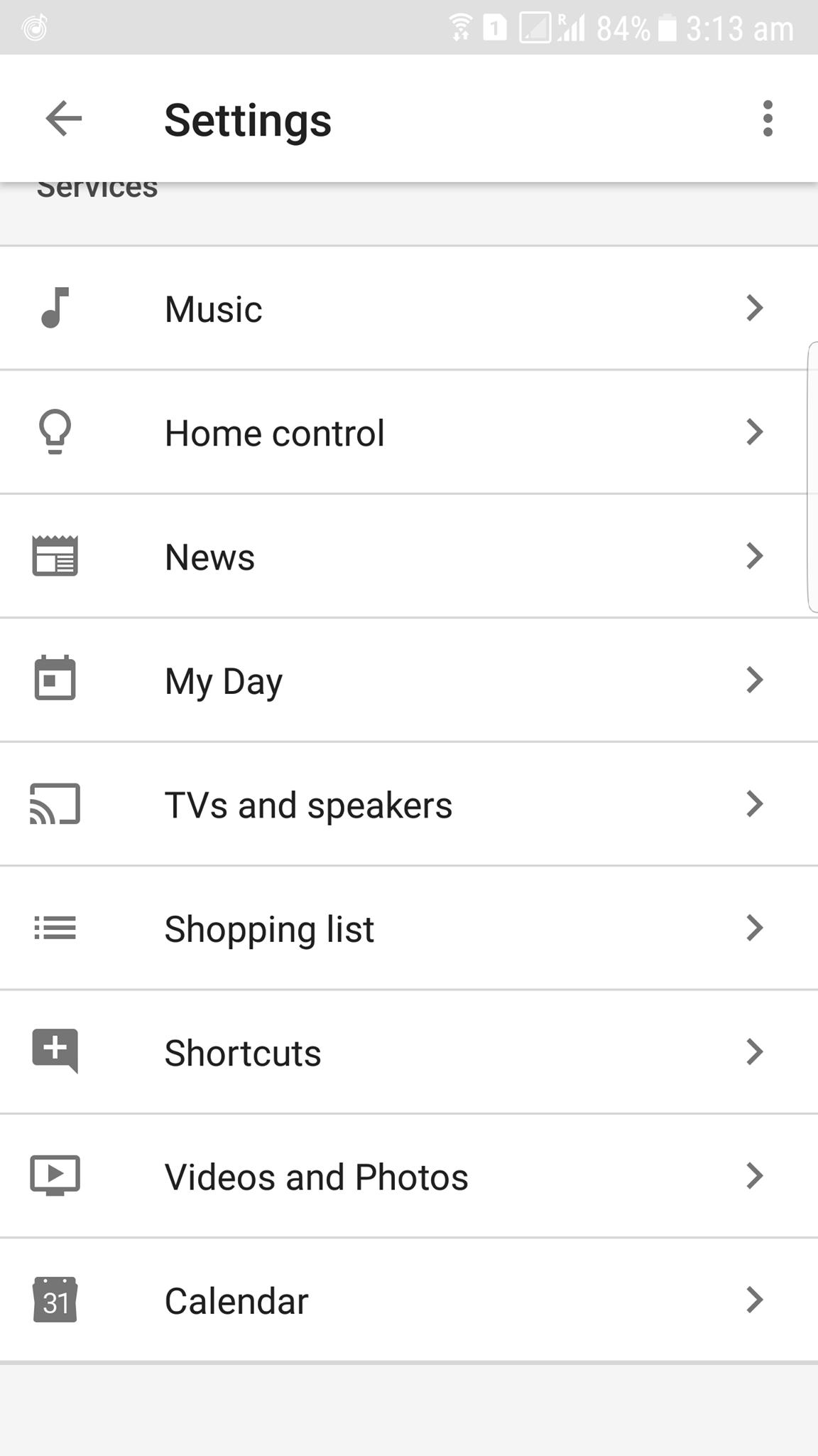 Google Home Calendar