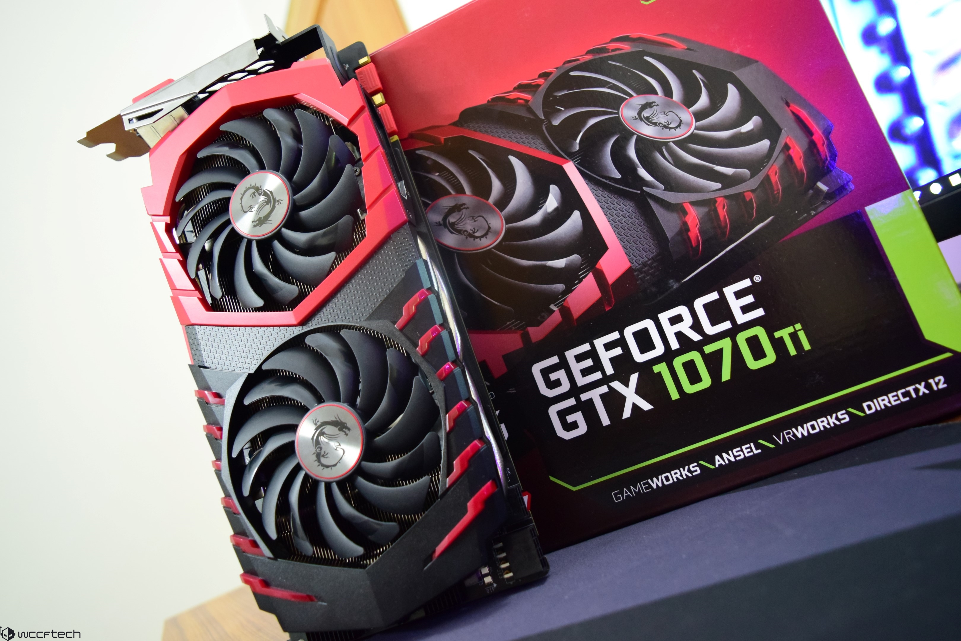 MSI GeForce GTX 1070 Ti Gaming 8 GB Graphics Card Review