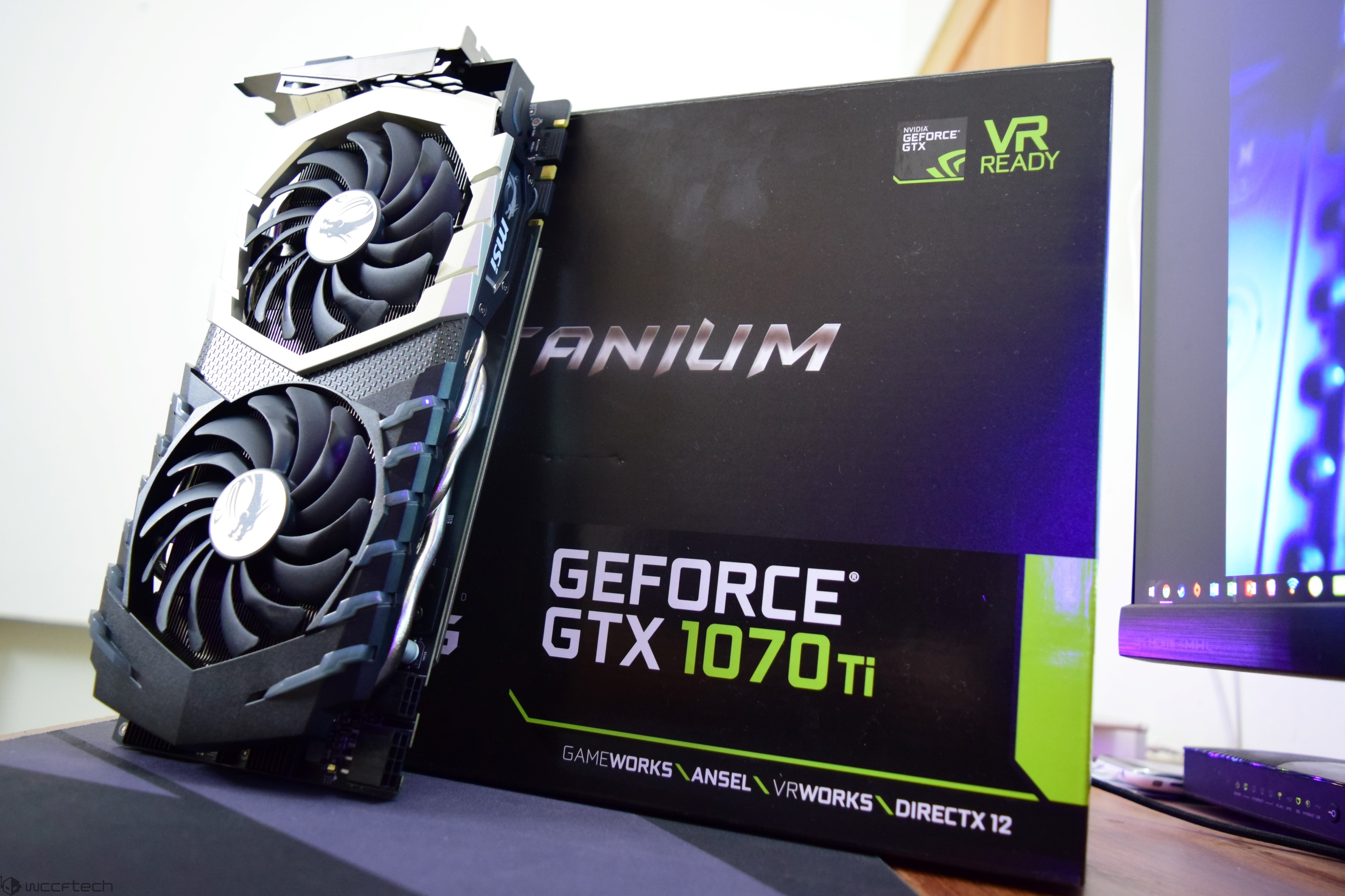 MSI GeForce GTX 1070 Ti Titanium 8 GB Graphics Card Review
