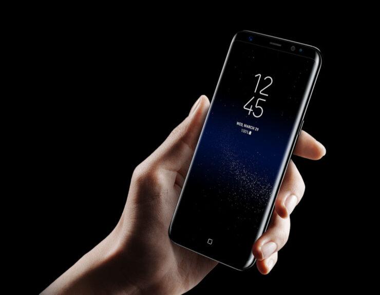 Galaxy S9 higher screen percentage