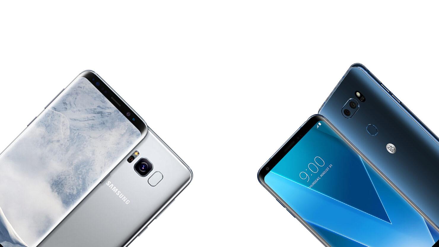 Galaxy S9 LG G7 January 2018 launch