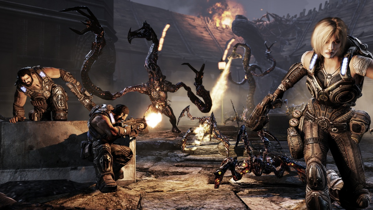 gears of war 3 looks amazing on xbox one x at 4k resolution new