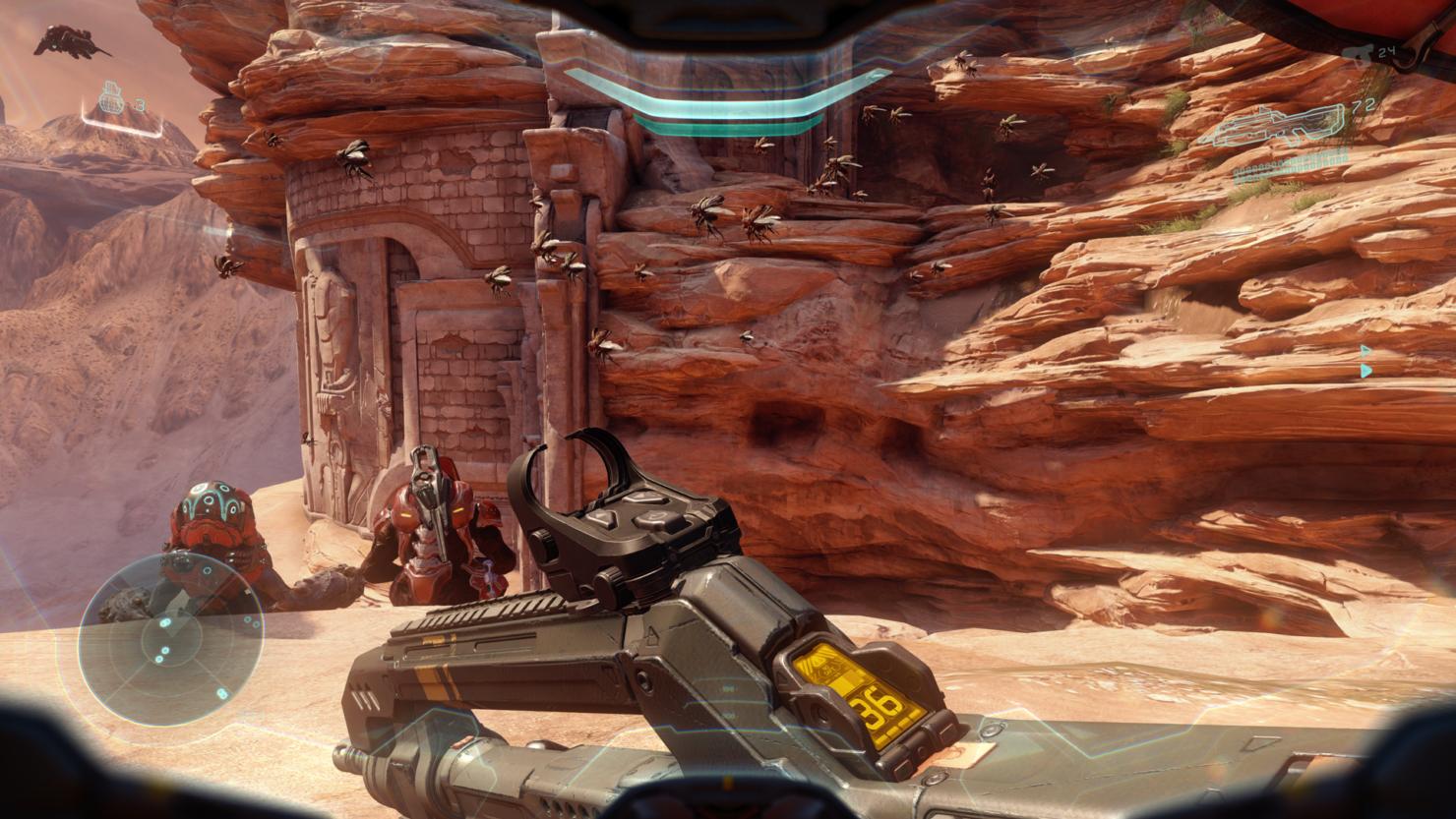 Halo 5 Xbox One X update 1080p 4