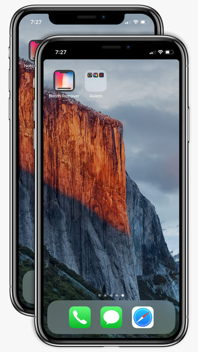 Download Notch Remover App For Iphone X From App Store