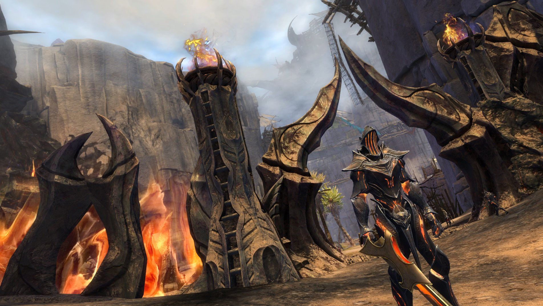 guild wars 2 path of fire review back to the desert