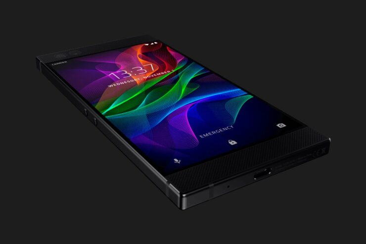 The Razer Phone in all it's glory...