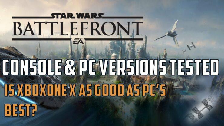 SW Battlefront II Xbox One X