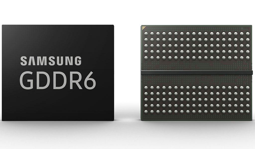 Samsung GDDR6 16 Gbps Memory For Future Graphics Cards Teased