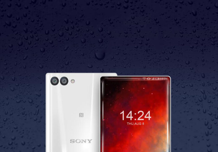 Sony bezel less flagship no Snapdragon 845