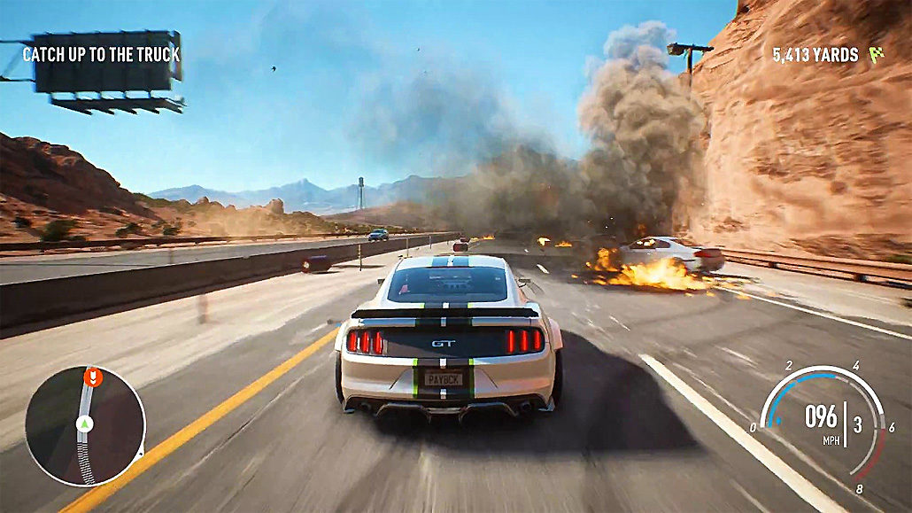 need for speed payback review fun sandbox lacking a driving force. Black Bedroom Furniture Sets. Home Design Ideas