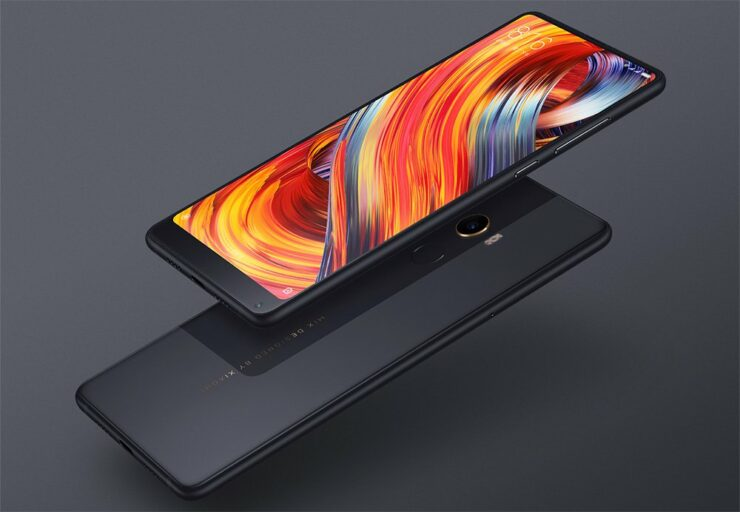 Xiaomi Mi MIX 2s iPhone X notch design