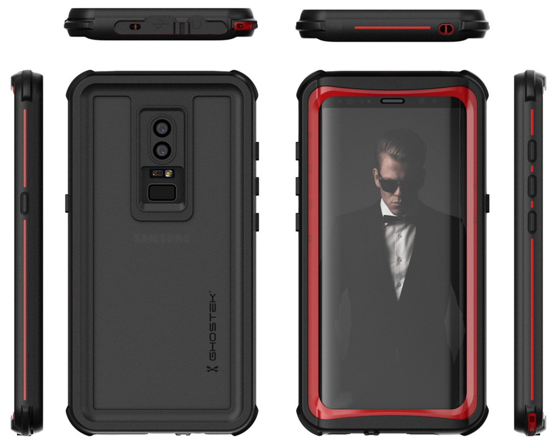 Galaxy S9 Case Render