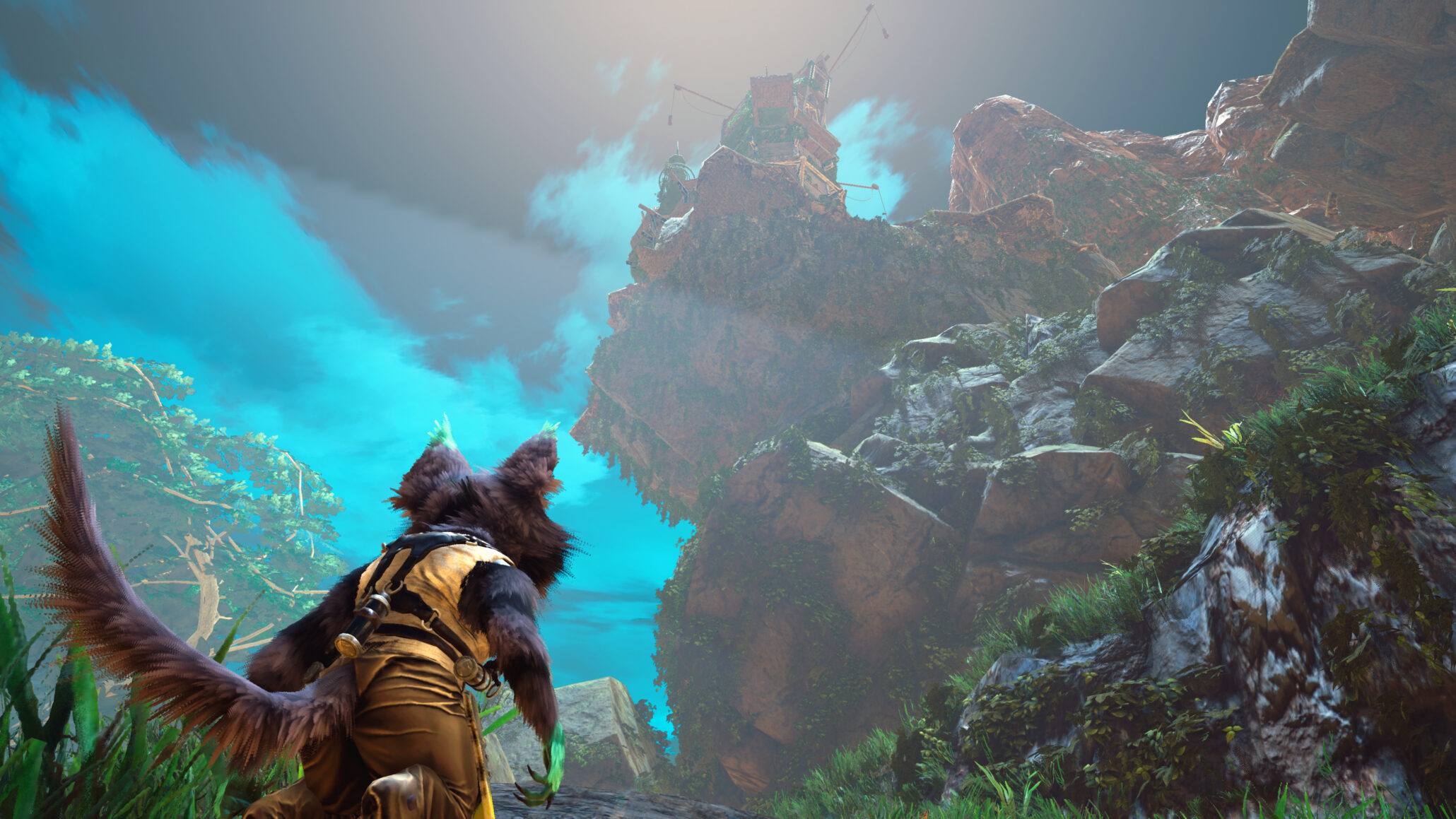 New Biomutant Gameplay Teaser Released From PC Gamer