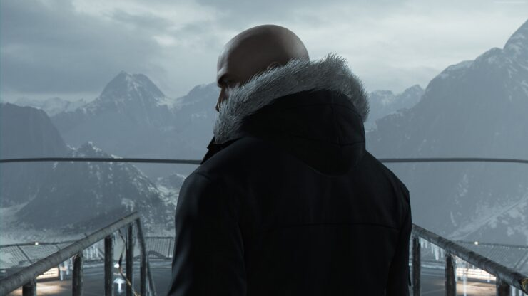 Xbox One X Hitman 4K HDR FPS