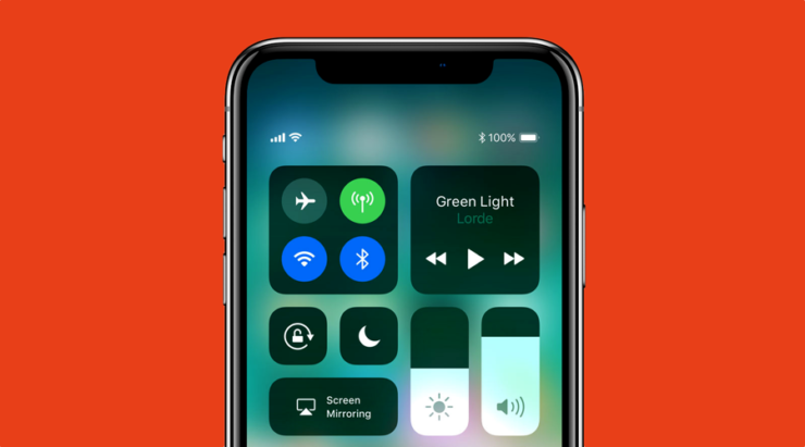 how to get battery percentage on iphone x home screen