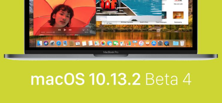 macOS 10.13.2 beta 4