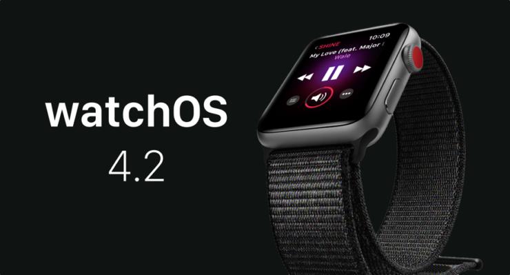 watchOS 4.2