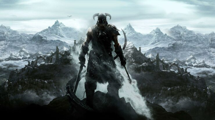 Skyrim Xbox one X update saving