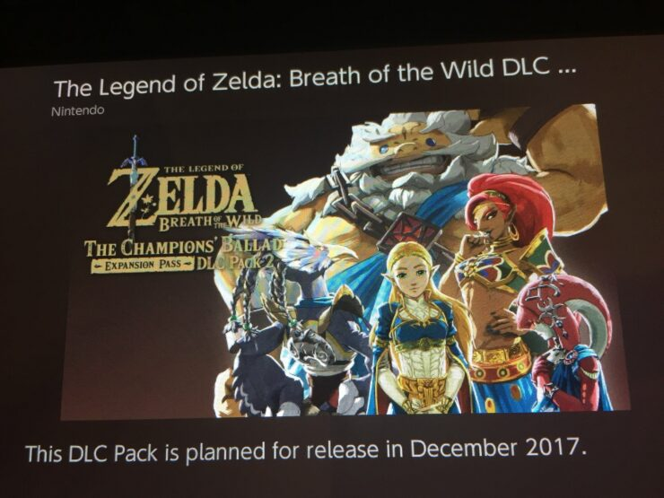zelda breath of the wild dlc 2 expansion