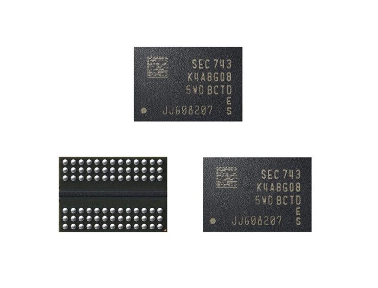 Samsung Has Commenced Mass Production of Industry's First 2nd-Generation 10nm DRAM Chips