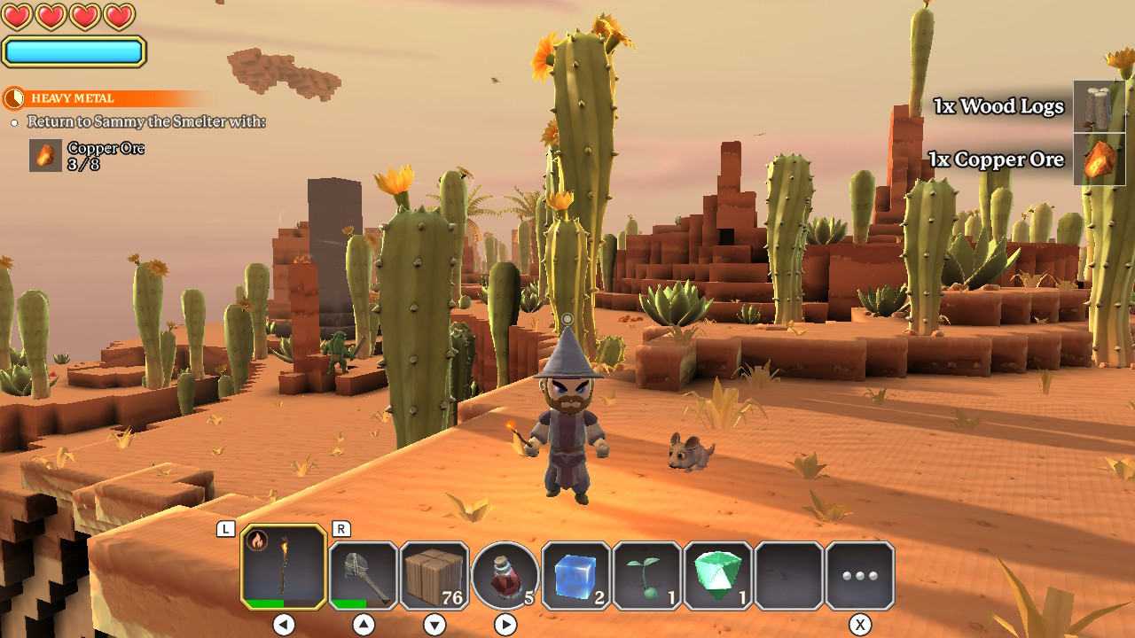 Portal Knights Review Minecraft Rpg Fun 3 Way Switch But Its Not All Doom And Gloom Is A Very Pretty Game Although The Framerate Can Chug At Times It Never Became Serious Problem In