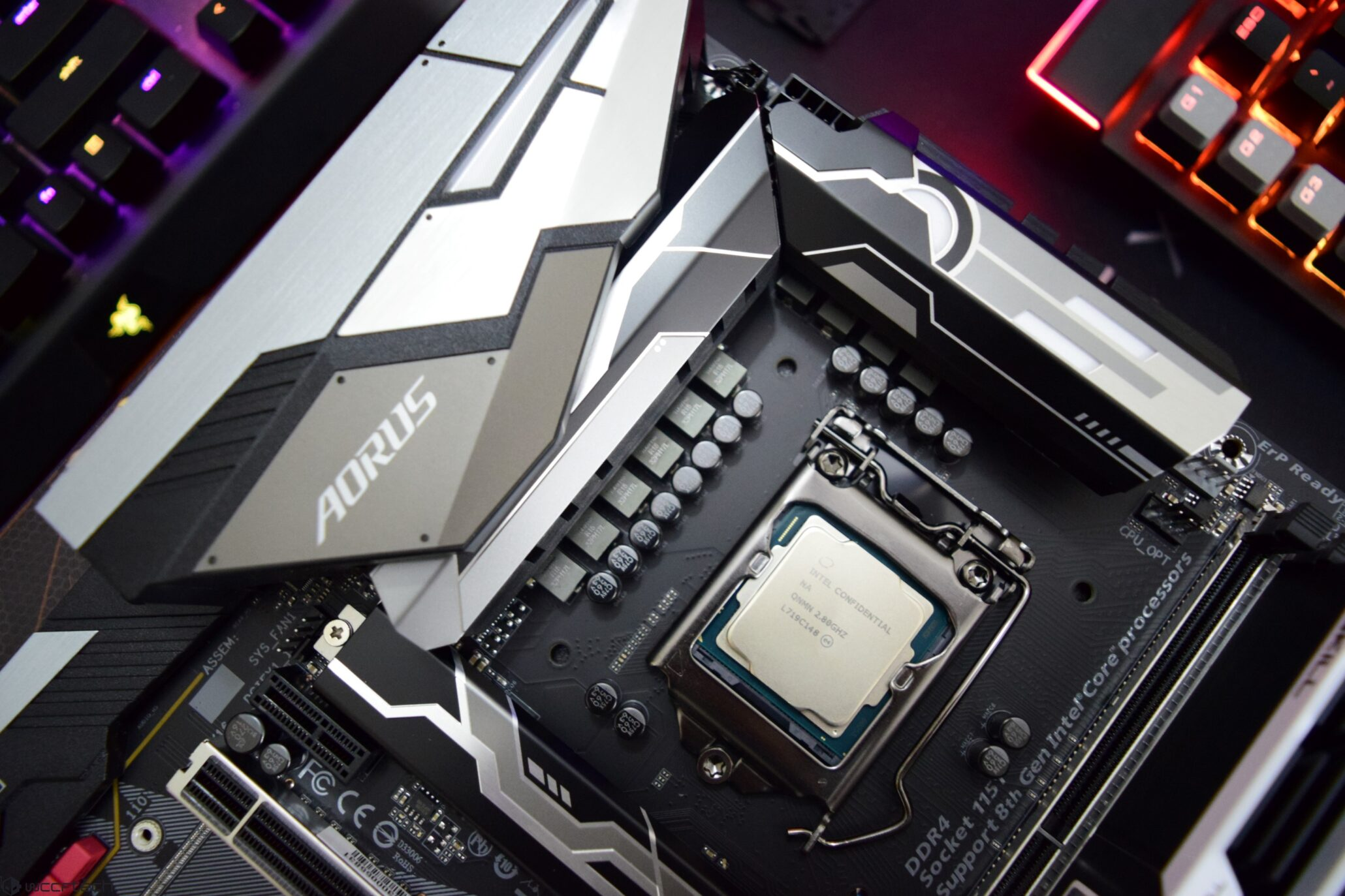 Intel Core i7-9700K Overclocked To 5 5 GHz and Benchmarked