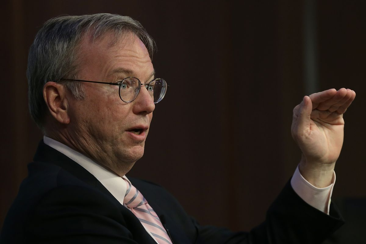 A look at Eric Schmidt's 17 years with Google and Alphabet