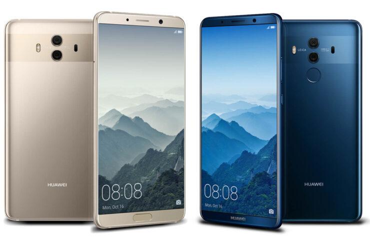 Huawei breaking Apple Samsung market share