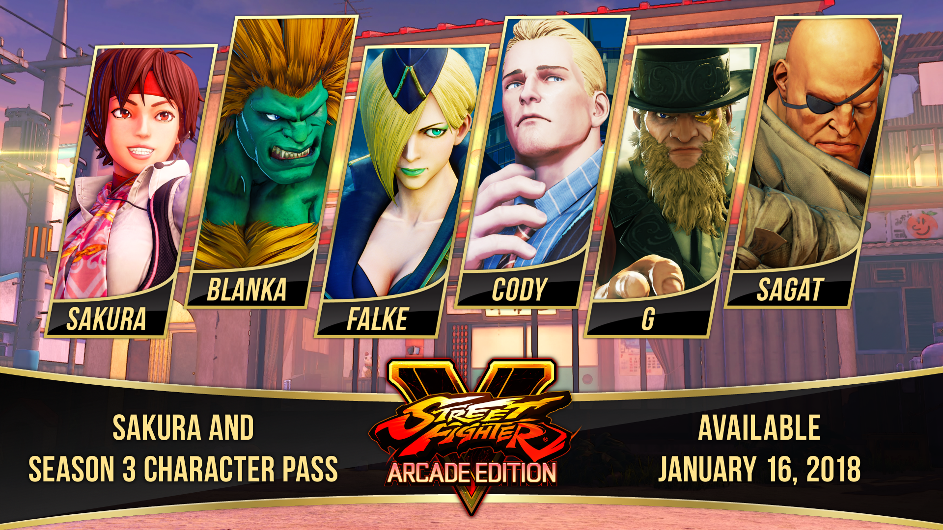 Two original characters join Street Fighter V: Season 3