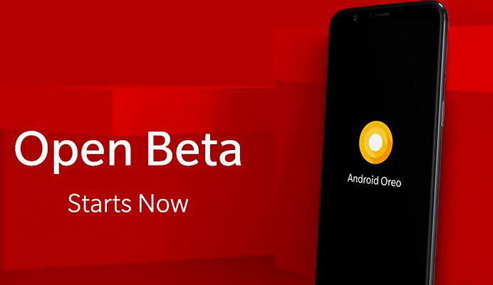 OnePlus 5T Oreo Beta