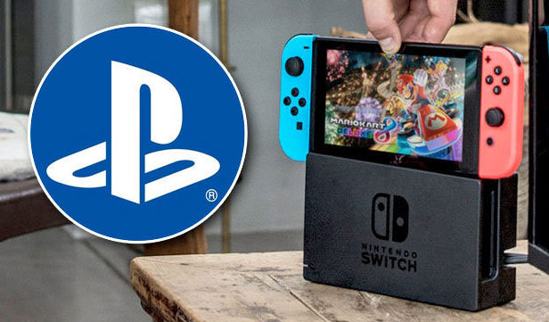 Sony ps4 nintendo switch