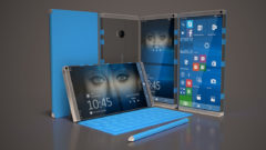 folding surface andromeda os