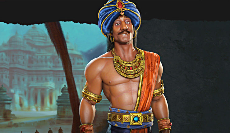 Civilization VI: Rise and Fall Gives India a Leader Other