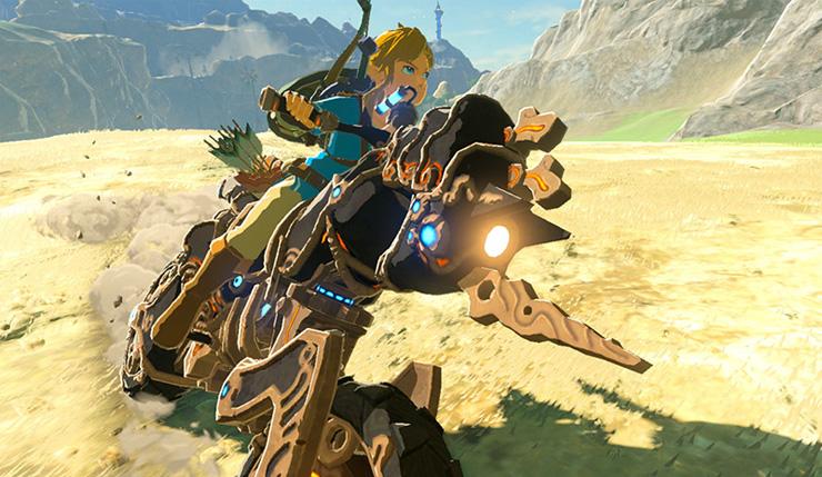 Zelda Breath of the wild update 1.5.0