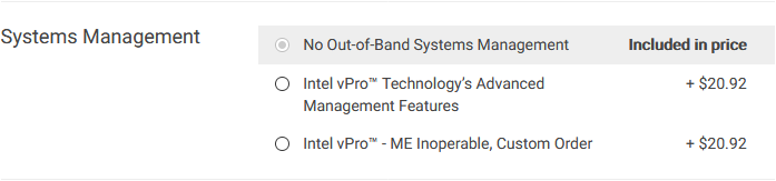 dell intel management engine