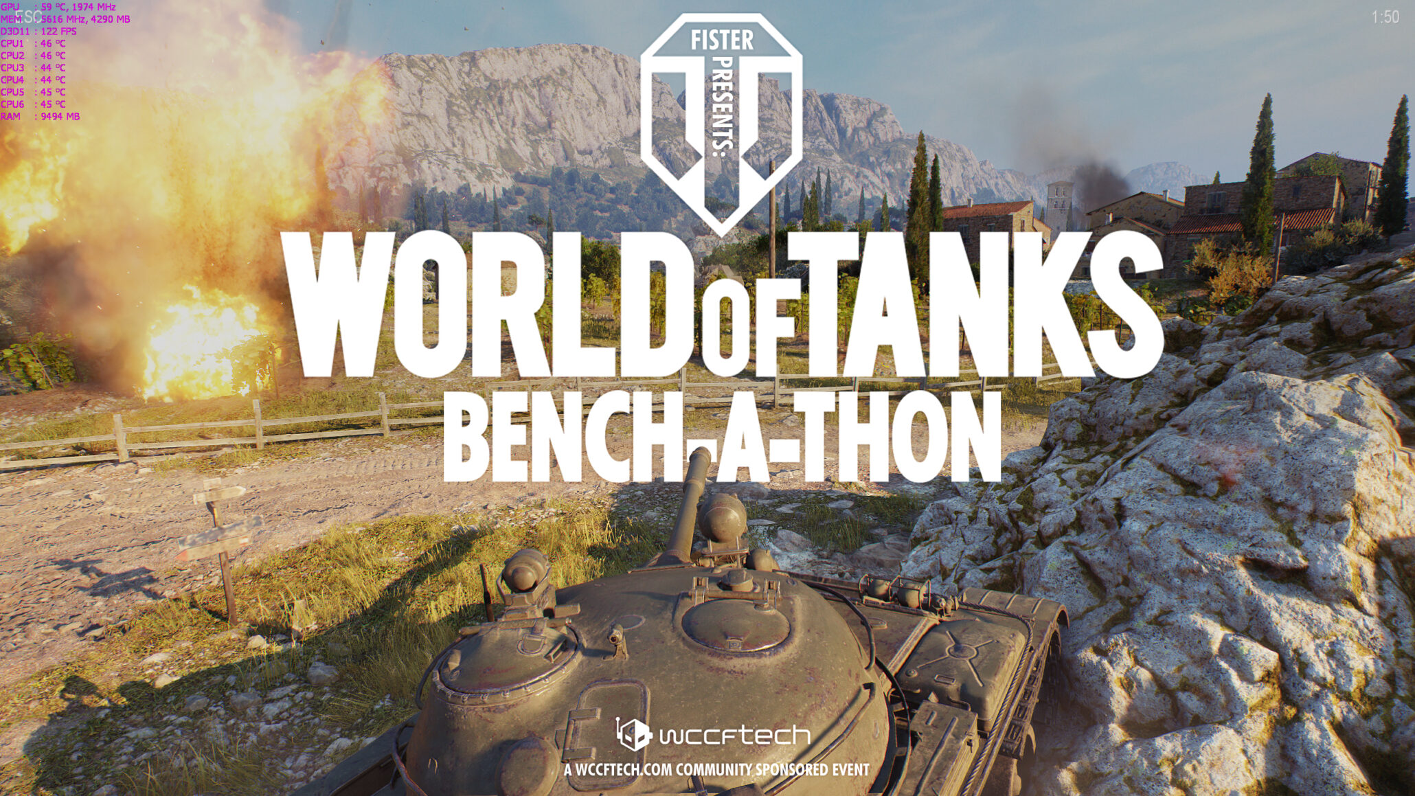 Wccftech Community Bench-a-Thon: World of Tanks