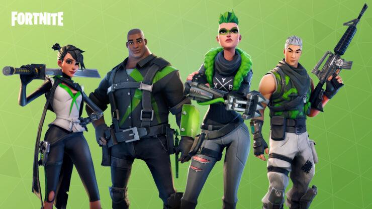 Fortnite update xbox one