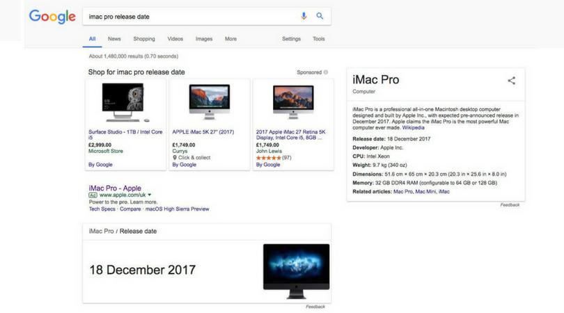 iMac Pro December 18 launch