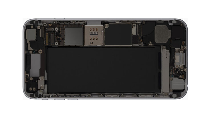 iPhone models 2018 1 cell design battery