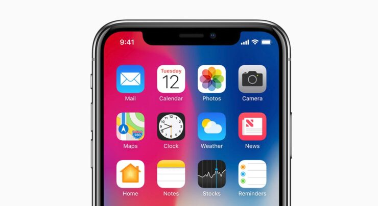 iPhone X average cost iPhone 740 USD