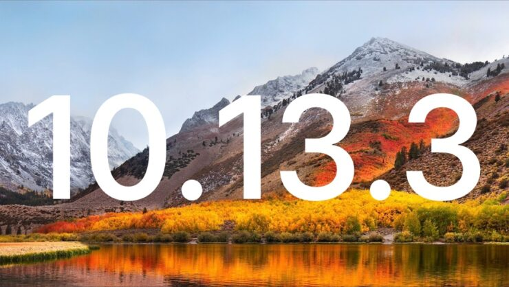 macOS High Sierra 10.13.3 Beta
