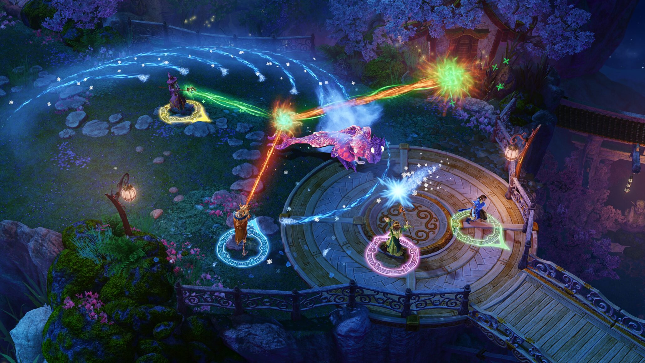 nine parchments runs at 4k 60 on xbox one x 1080p 60 on ps4 pro