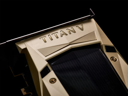 NVIDIA releases the Titan V graphics card focused on AI processing