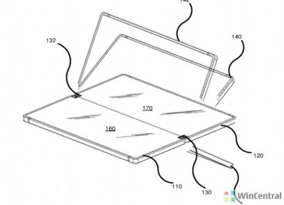 Microsoft explains benefits of foldable phones in its latest patent