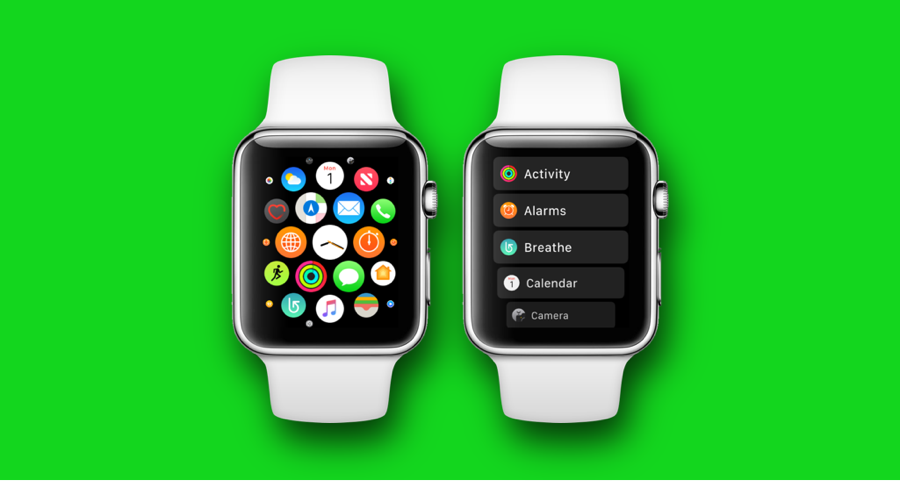 How to Switch Apple Watch Home Screen from Grid View to ...
