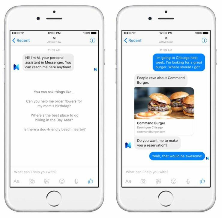 Facebook to shut down its virtual assistant 'M' on January 19
