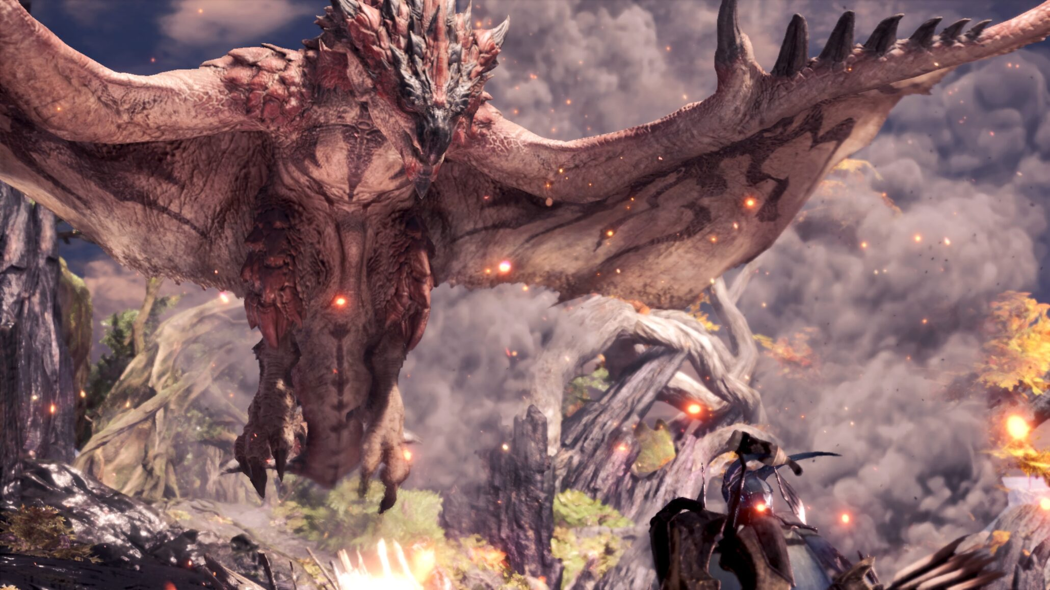 New PC Monster Hunter World Mod Shows Monsters HP and Team Damage