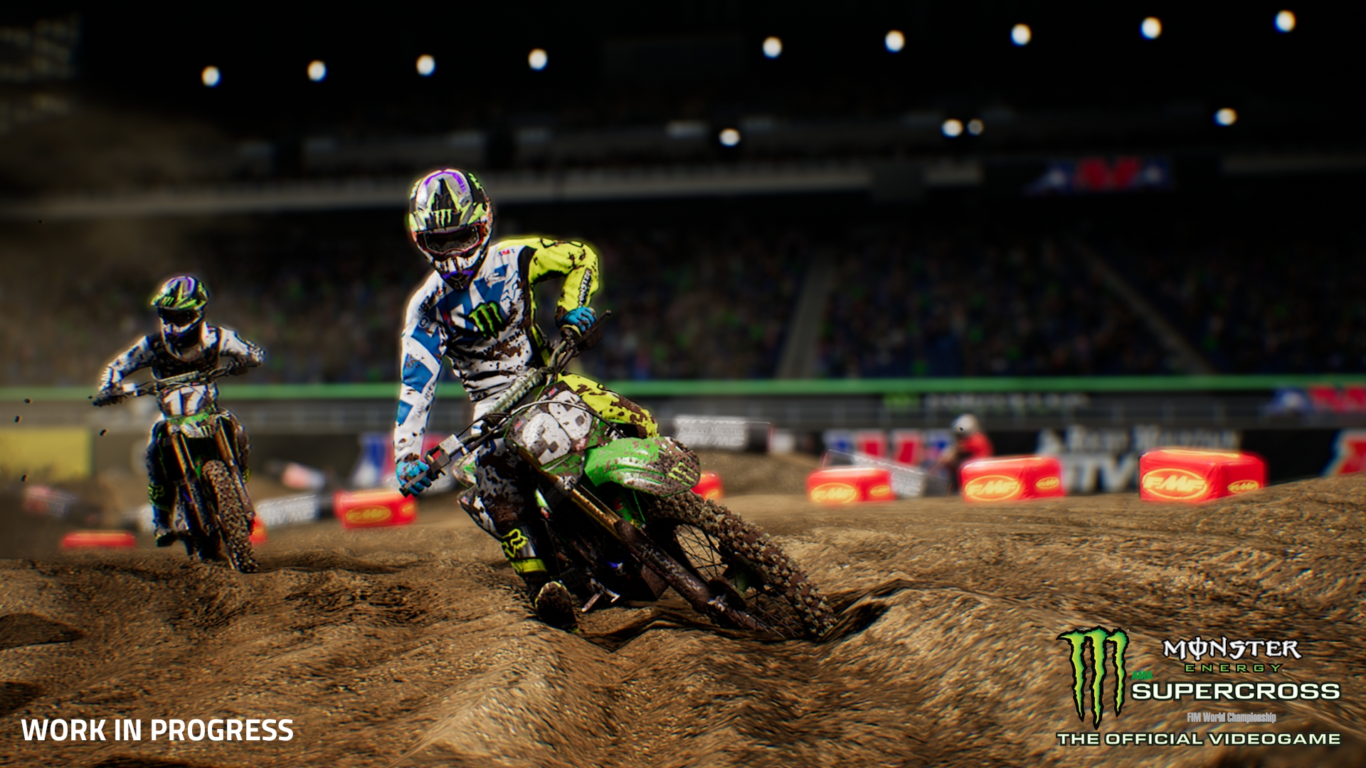 Monster Energy Supercross - The Official Videogame Preview - Milestone Hits Home
