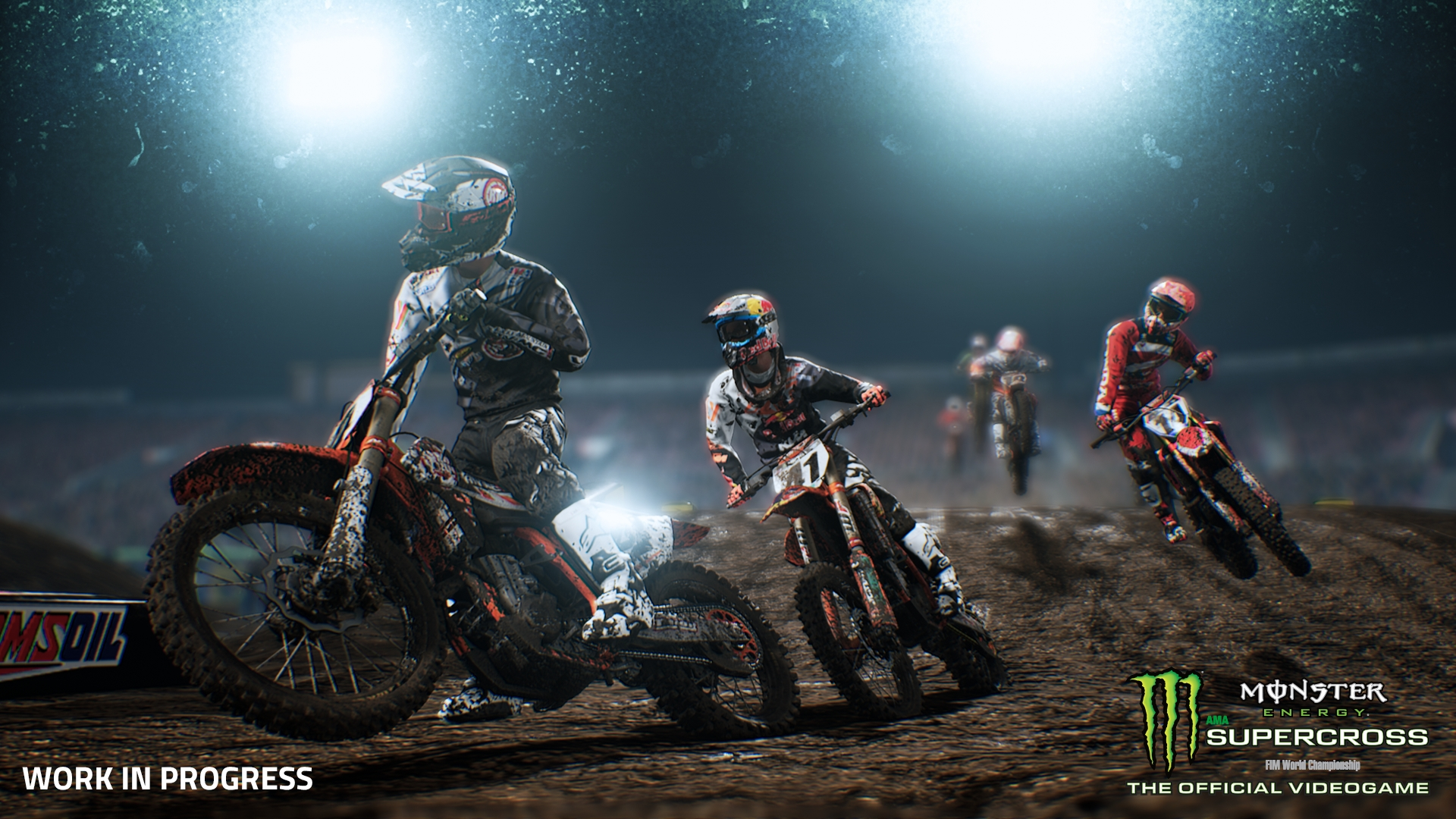 High Quality As Well As Looking That Much Better, Thereu0027s A Lot To Say About How Monster  Energy Supercross Feels. Being A Motorbike Rider Myself (albeit Not An  Offroad ... Pictures Gallery